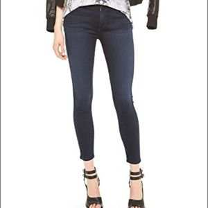 7 for all Mankind Mid Rise Crop Skinny EUC SZ 31